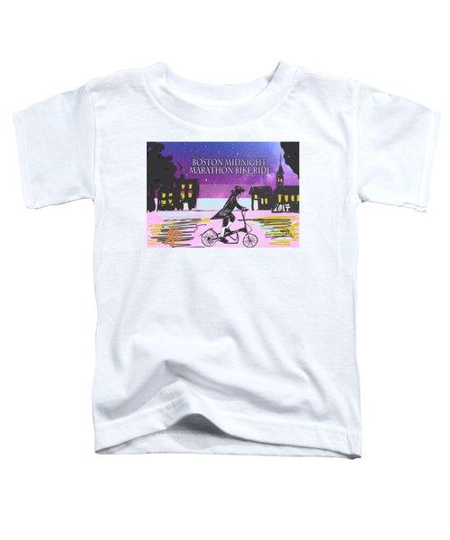 Elliptigo Arc On The Midnight Ride Toddler T-Shirt