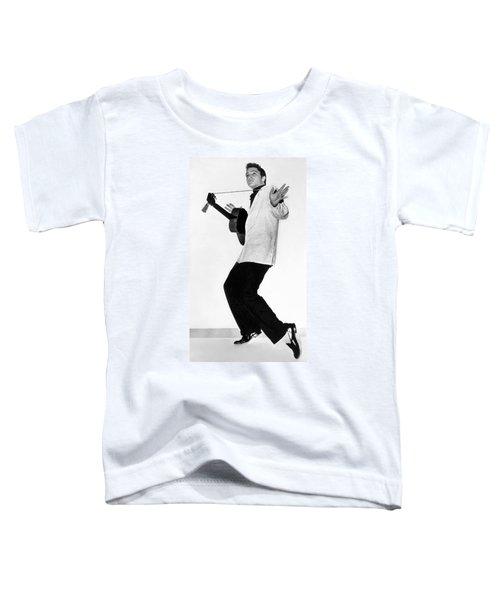 Elvis Presley In 1956 Toddler T-Shirt