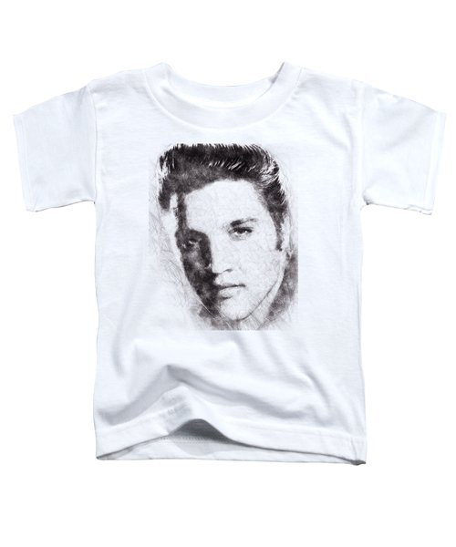 Elvis Presley Portrait 02 Toddler T-Shirt