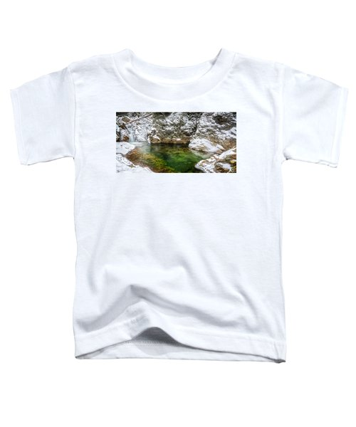 Emerald Pool Ellis River Nh Toddler T-Shirt