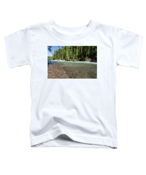Emerald Waters Flow Toddler T-Shirt
