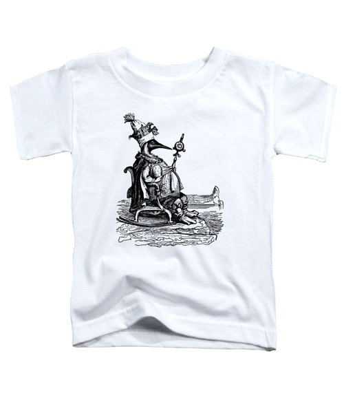 Empire Penguin Grandville Transparent Background Toddler T-Shirt by Barbara St Jean