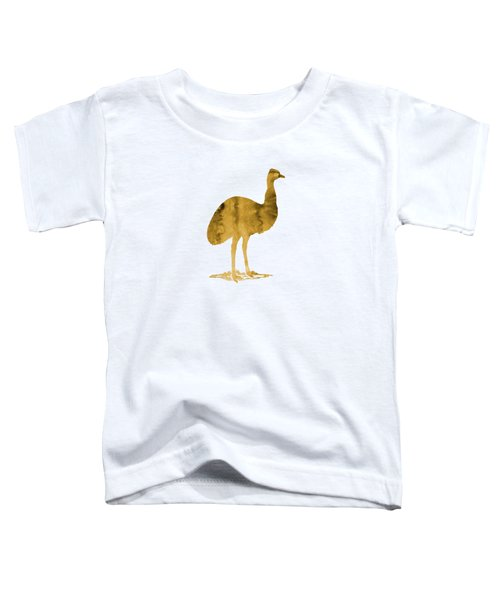 Emu Toddler T-Shirt by Mordax Furittus