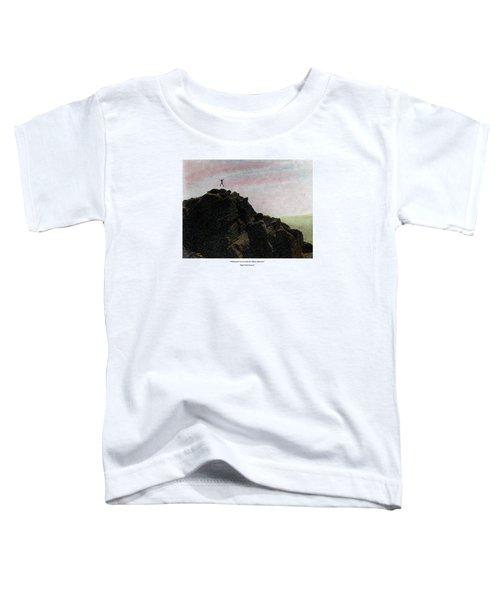 Enthusiasm Poster Toddler T-Shirt