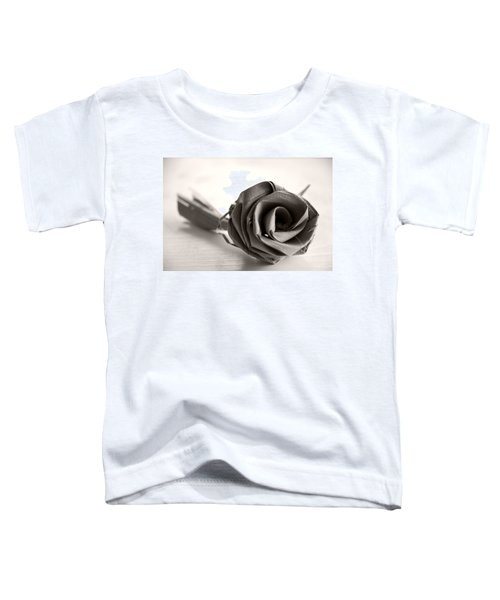 Eternal Rose In Sepia Toddler T-Shirt