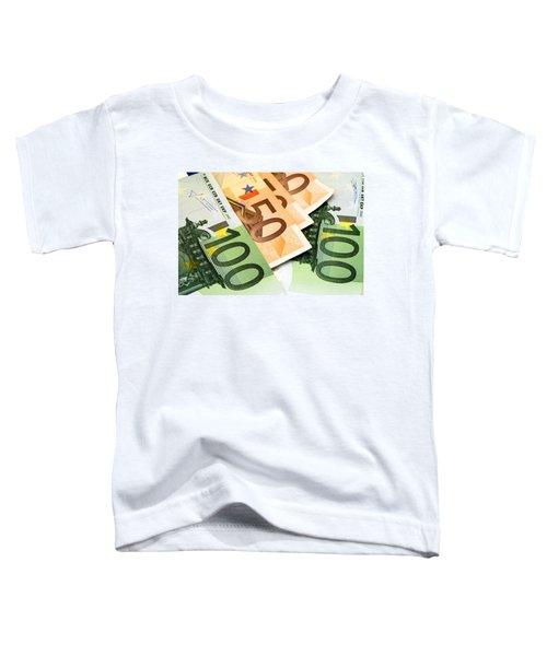 Euro Banknotes Toddler T-Shirt
