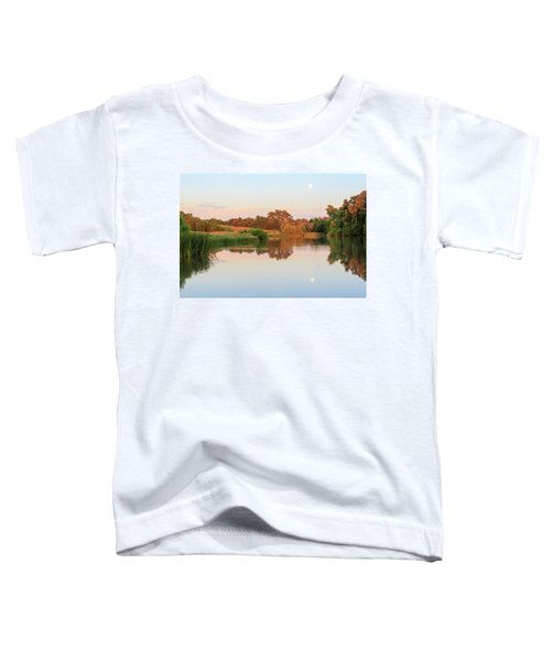 Evening At The Lake Toddler T-Shirt