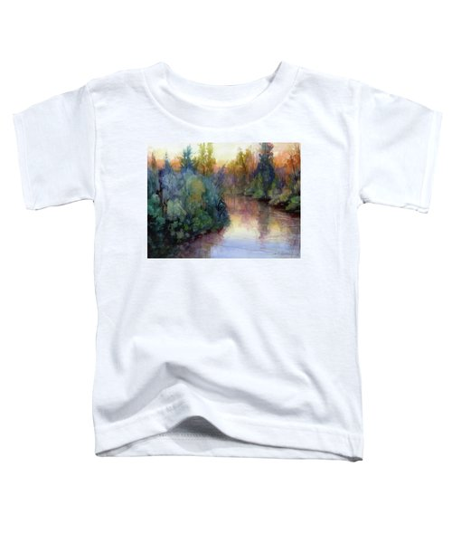 Evening On The Willamette Toddler T-Shirt