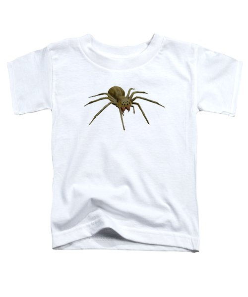 Evil Spider Toddler T-Shirt by Martin Capek