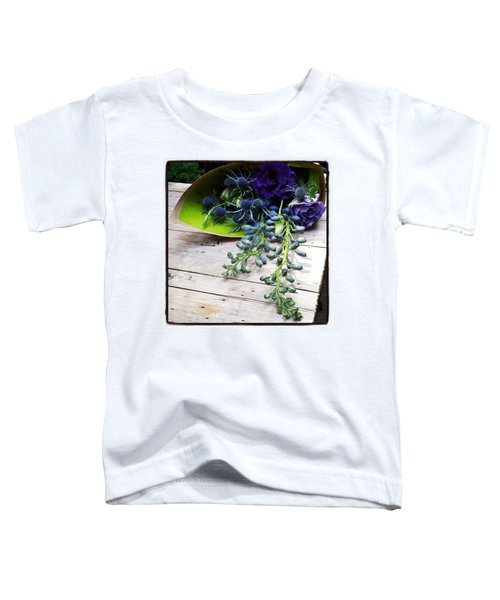 Toddler T-Shirt featuring the photograph Excellent Customer Service. #flowers by Mr Photojimsf