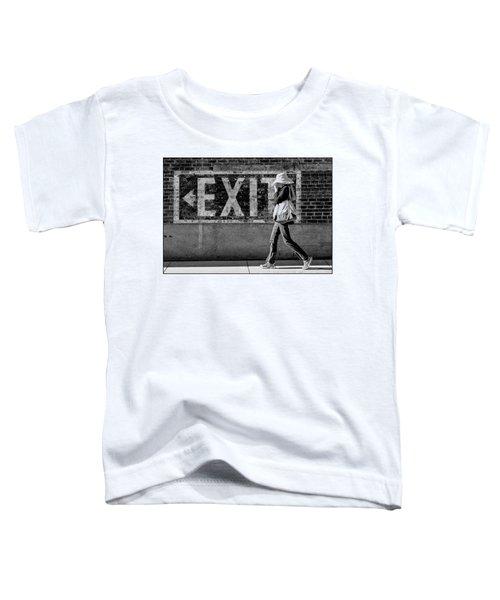 Exit Bw Toddler T-Shirt