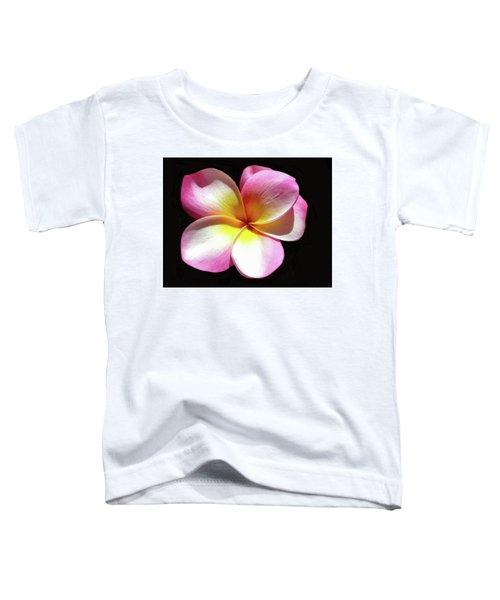 Exotic Plumeria Toddler T-Shirt