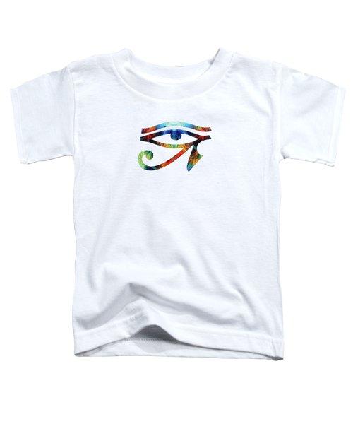 Eye Of Horus - By Sharon Cummings Toddler T-Shirt