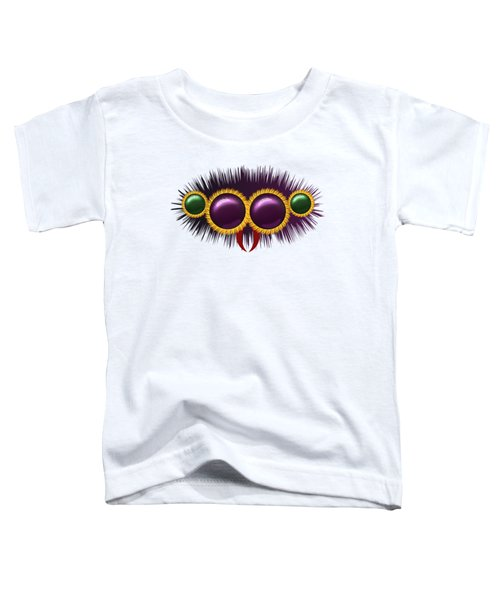 Eyes Of The Huge Hairy Spider Toddler T-Shirt by Michal Boubin