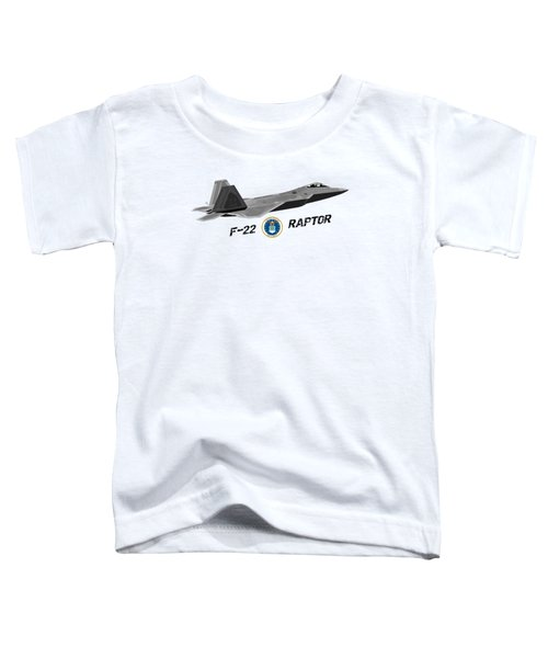 F22 Raptor Png Toddler T-Shirt