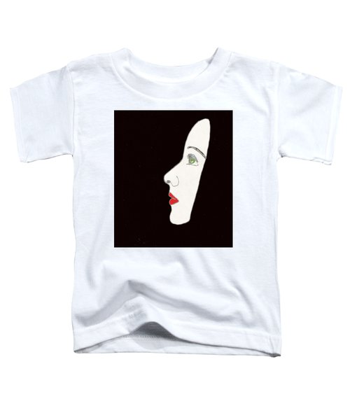 Face In Profile Toddler T-Shirt
