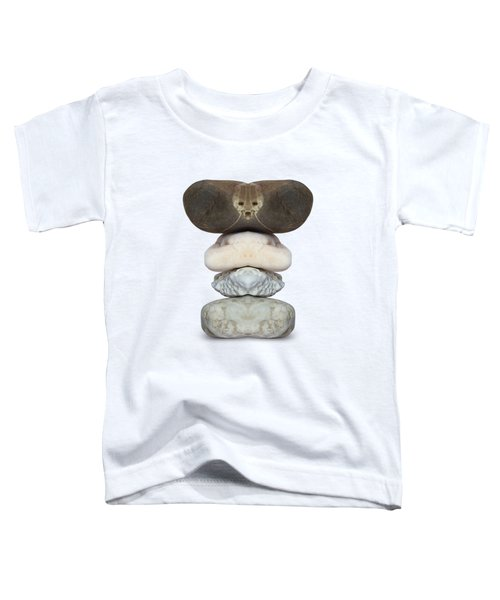 Face Of Alien On The Stone Toddler T-Shirt