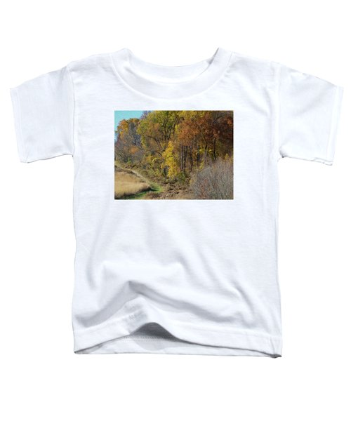Fall Colors As Oil Toddler T-Shirt