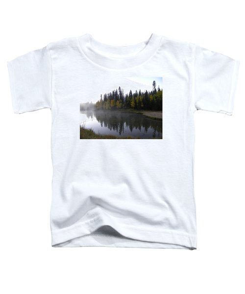 Kiddie Pond Fall Colors Divide Co Toddler T-Shirt