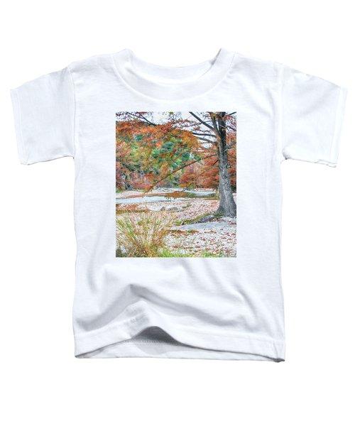 Fall In Texas Hills Toddler T-Shirt