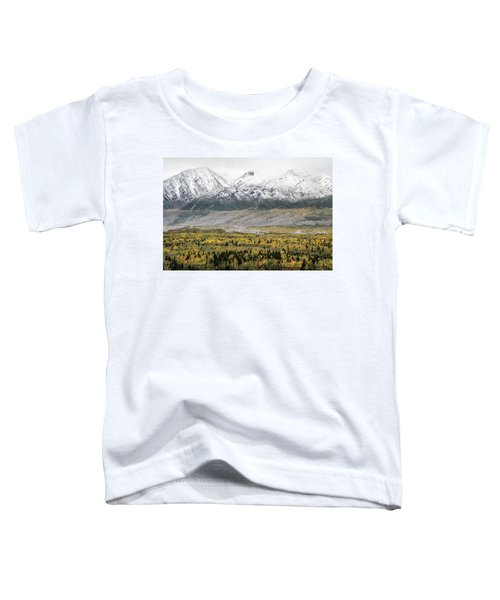 Fall In Wrangell - St. Elias Toddler T-Shirt