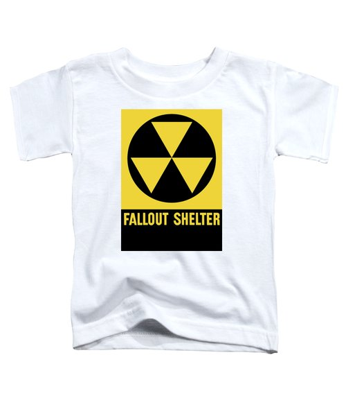 Fallout Shelter Sign Toddler T-Shirt
