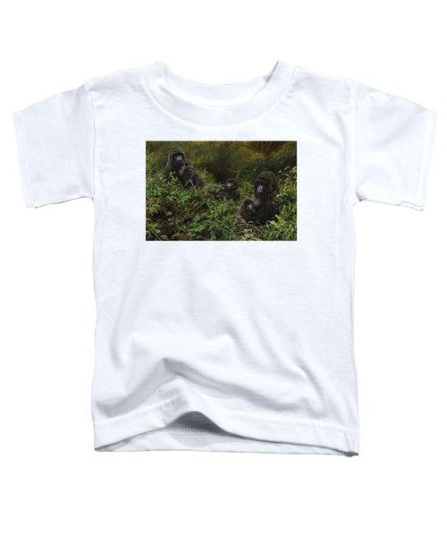 Family Of Gorillas Toddler T-Shirt