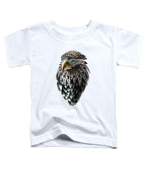 Fantasy Eagle Toddler T-Shirt by Sassan Filsoof