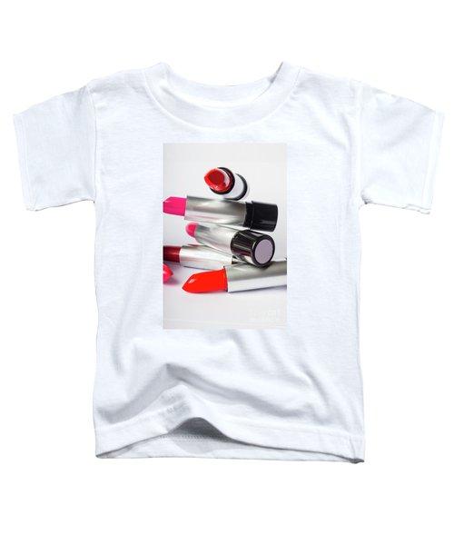 Fashion Model Lipstick Toddler T-Shirt
