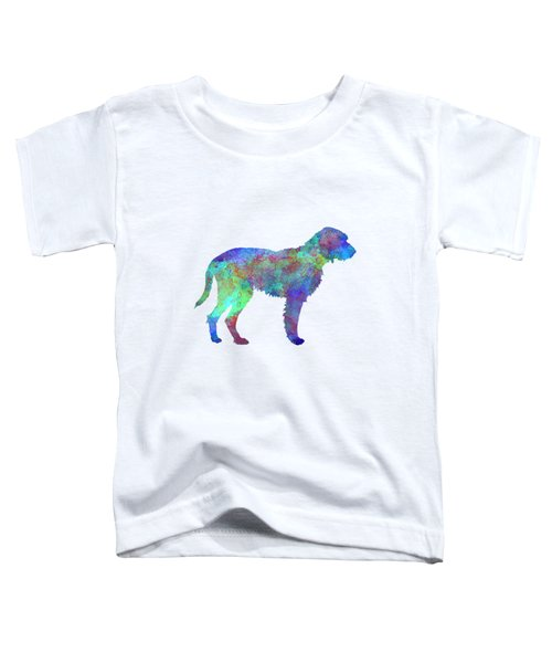 Fawn Brittany Griffon In Watercolor Toddler T-Shirt