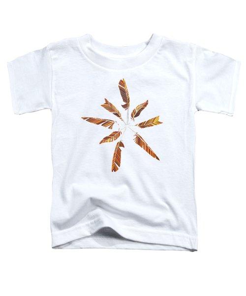 Feather Mandala Toddler T-Shirt