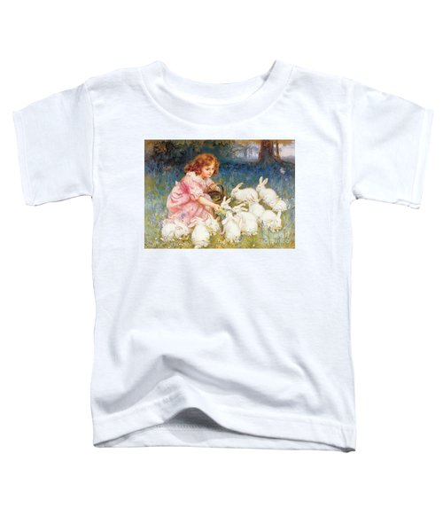 Feeding The Rabbits Toddler T-Shirt