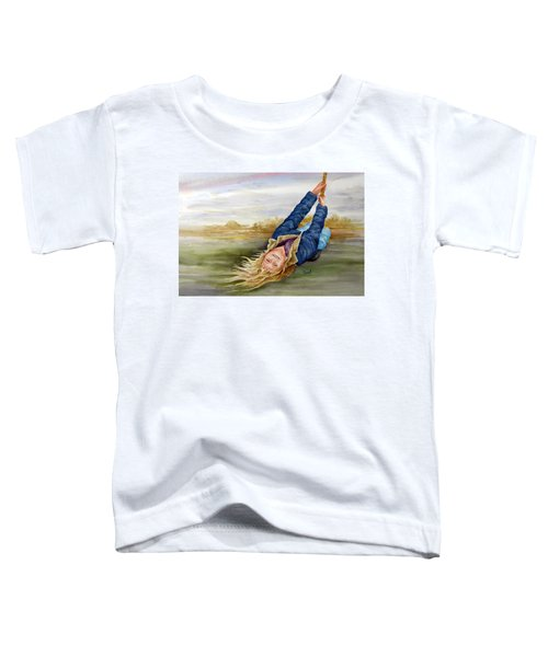 Feelin The Wind Toddler T-Shirt