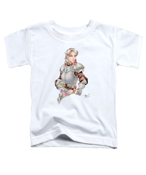 Female Elf Toddler T-Shirt