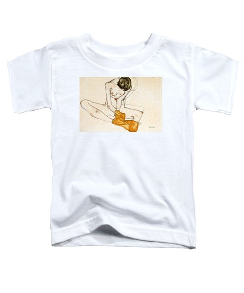 Female Nude Toddler T-Shirt