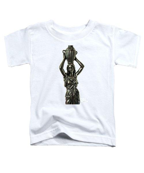 Female Water Goddess Bronze Statue 3288a Toddler T-Shirt