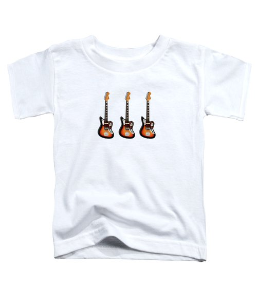 Fender Jaguar 67 Toddler T-Shirt by Mark Rogan