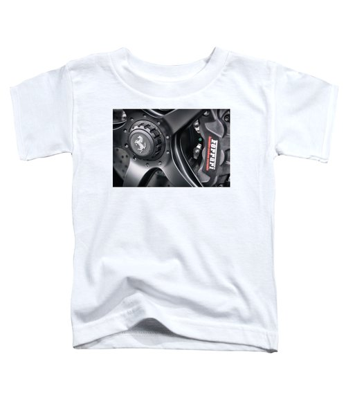 #ferrari #print Toddler T-Shirt