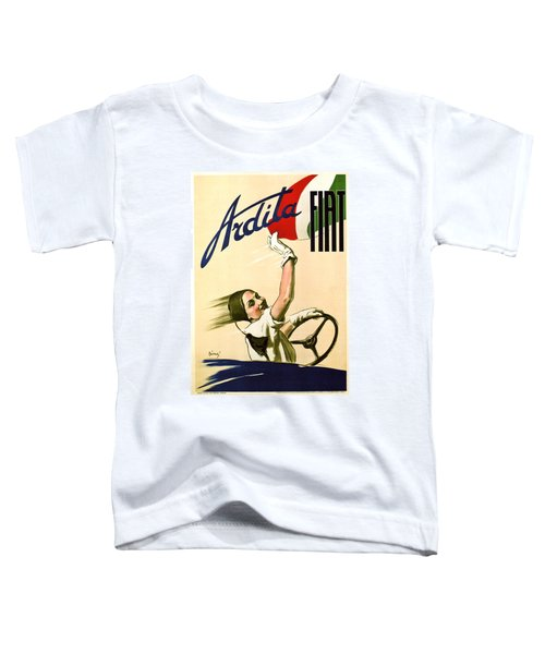 Fiat Ardita - Italian Car - Vintage Advertising Poster Toddler T-Shirt