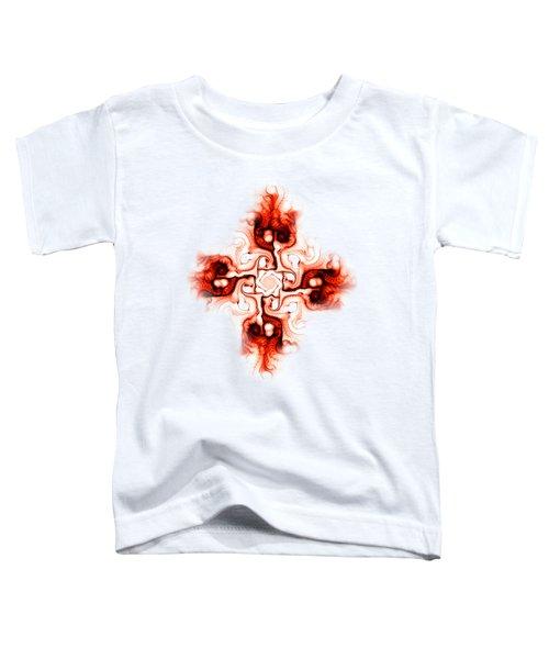 Fiery Cross Toddler T-Shirt