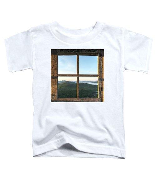 Fire Tower Frame Toddler T-Shirt