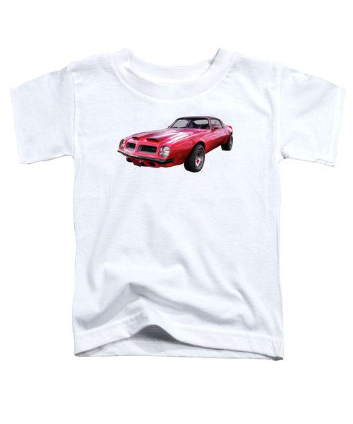 Firebird With Fire In The Sky Toddler T-Shirt