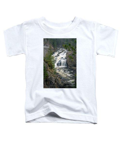 Firehole Falls Toddler T-Shirt