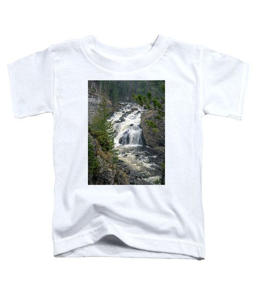 Firehole Falls Toddler T-Shirt