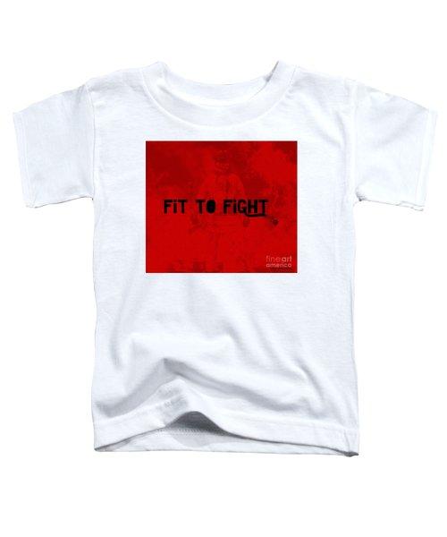 Fireman In Red Toddler T-Shirt