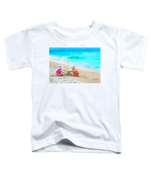 First Sand Castle Toddler T-Shirt