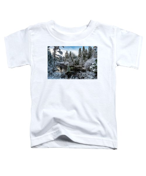 First Snow On Grand Marais Creek Toddler T-Shirt