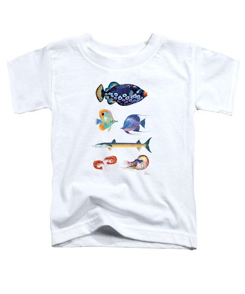 Fish Poster 001 Toddler T-Shirt