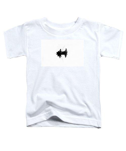 Fishing Buddies Toddler T-Shirt by David Lee Thompson
