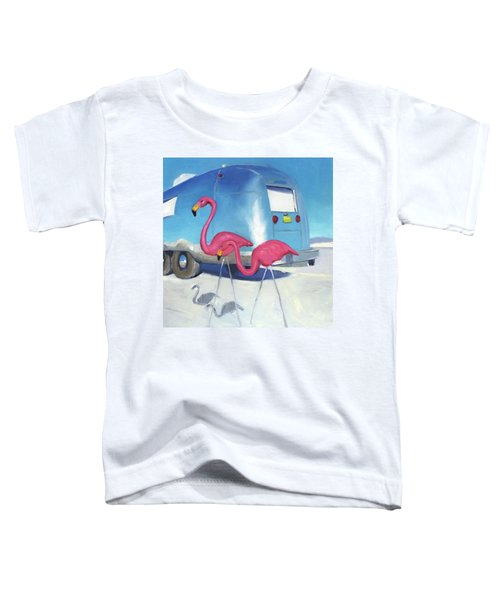 Flamingo Migration Toddler T-Shirt